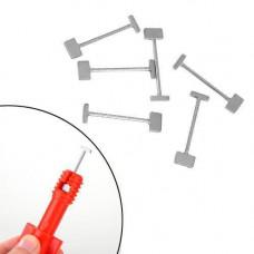 100х Голки змінні для системи вирівнювання плитки, сталеві