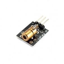 Модуль лазерний, червоний діод, KY-008, Arduino