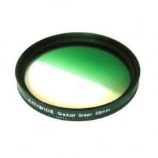 Кольоровий фільтр 58мм зелений градієнт, CITIWIDE