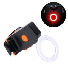 Ліхтар велосипедний задній акумуляторний LED кільцевої