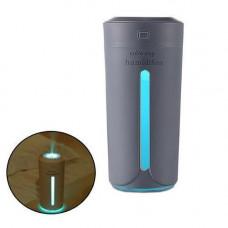 Зволожувач повітря ультразвуковий з підсвічуванням, 230мл портативний, HUM001