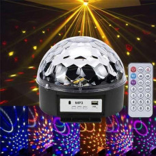 Лазерний проектор, диско куля, світломузика з динаміком USB пультом