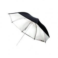 Фото парасолька 101см сріблястий, 40