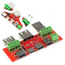 Універсальна плата перехідник тестування кабелів для USB тестера