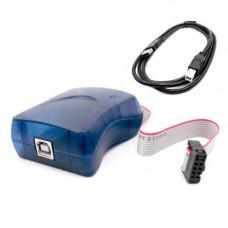 USB AVRISP XPII программатор AVR ISP PDI, клон Atmel mkII, STK500