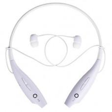 Навушники безпровідні Bluetooth гарнітура HBS-730 з шийним ободом, білі