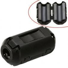 Феритовий фільтр, феритове кільце знімне на кабель 3.5 мм
