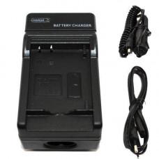 Мережевий + авто зарядний пристрій Fuji NP-120 NP120