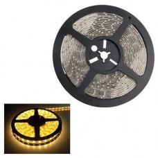 5м стрічка світлодіодна, 300x 3528 SMD LED, жовта