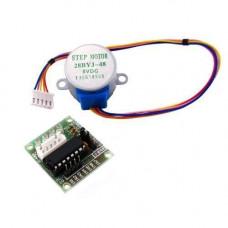 4-фазний кроковий мотор + ULN2003 драйвер, Arduino