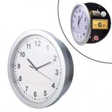 Настенные часы сейф 25х7см, тайник с полочкой, Safe Clock