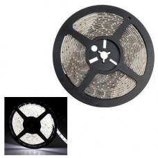 5м стрічка світлодіодна, 300x 3528 SMD LED, біла