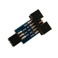 10 на 6 pin перехідник, ATMEL AVRISP USBASP STK500