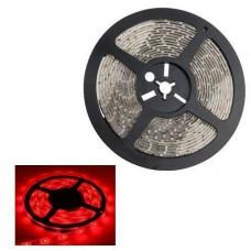 5м стрічка світлодіодна, 300x 3528 SMD LED, червона