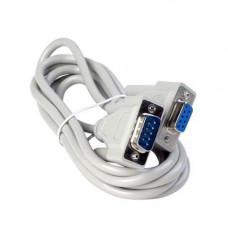 Нуль-модемний кабель RS232 COM DB9 тато-мама 1.4 м