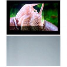 Тканина світловідбиваюча 60 для проектора, проекційний екран, сіра