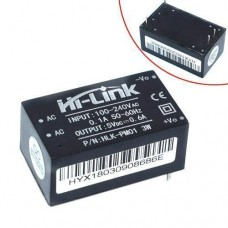 Перетворювач напруги компактний AC-DC 220В-5В 0.6А HLK-PM01