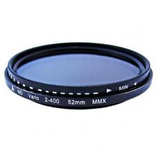 ND фільтр змінної щільності ND2-ND400, 52мм