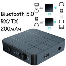 Bluetooth 5.0 міні аудіо приймач, передавач звуку 200мАч VIKEFON KN321