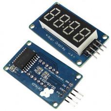 4-розрядний 7-сегментний індикатор під годинник на драйвері TM1637 Arduino