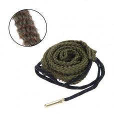 Протяжка шнур змійка для чищення ствола зброї 38, 357, 380 калібру 9 мм