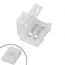 Конектор затискний 2pin для світлодіодних стрічок 8мм SMD 3528 2835