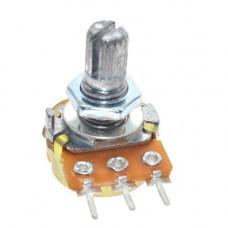 Резистор змінний, потенціометр WH148 B100K лінійний 15мм 100кОм