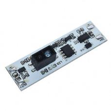 Безконтактний інфрачервоний вимикач LED стрічок диммер 5-24В 3А XK-GK-4010A