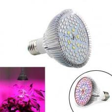 Фитолампа фіто лампа для рослин, повний спектр E27, 78LED 24Вт