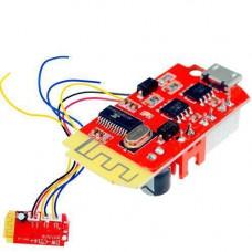 Аудіо підсилювач потужності Bluetooth звуку 2х3Вт MicroUSB DW-CT14