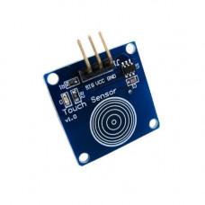 Датчик дотику, сенсорна кпопка TTP223B, Arduino