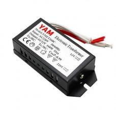 Трансформатор електронний 220В-12В 160Вт для галогенних ламп YMET160C