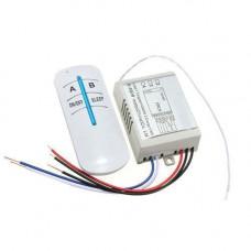 2-канал бездротовий вимикач освітлення 220В