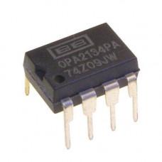 Чіп OPA2134PA OPA2134 DIP8, Операційний підсилювач 2-канальний