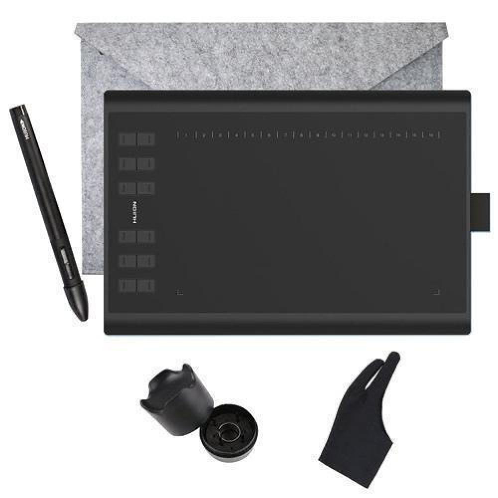 Графічний планшет з пером HUION New 1060 Plus 8192 суперкомплект