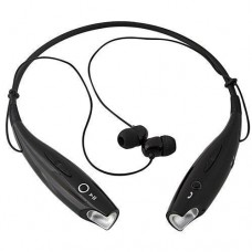 Навушники безпровідні Bluetooth гарнітура HBS-730 з шийним ободом, чорні