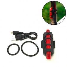 Ліхтар велосипедний задній велосипедний ліхтар акумуляторний TSLM2
