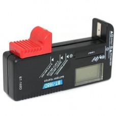 Універсальний, портативний тестер заряду батарей з LCD BT-168D