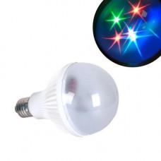 Лампа світлодіодна декоративна Зірки E27 LED RGB
