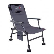 Крісло фідерне для рибалки, складне з подушкою і чохлом, Kratos