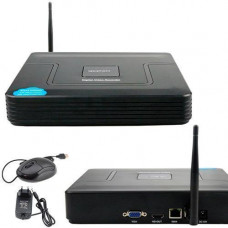 Відеореєстратор NVR TVPSii S6216NVR Wi-Fi для IP камер, 16 каналів 5МП