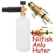 Пінна насадка пінник 1л для мийок Nilfisk Anlu Huter W105-AR W135-AR S2