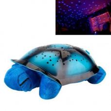 Світильник нічник-проектор зоряного неба, музична черепаха