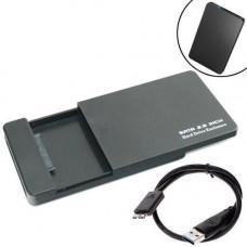 Зовнішній 2.5 USB 3.0 SATA кишеня жорсткого диску з висувною кришкою
