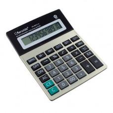 Калькулятор настольный бухгалтерский 18х14см 12-разрядный KK-8875-12