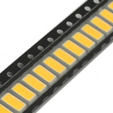 100x 5630 5730 SMD LED 3В 0.5Вт 50-55лм світлодіод, теплий білий