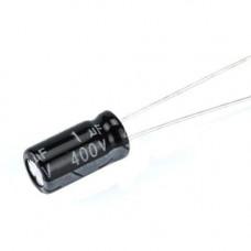 10x Конденсатор електролітичний алюмінієвий 1мкФ 400В 105С