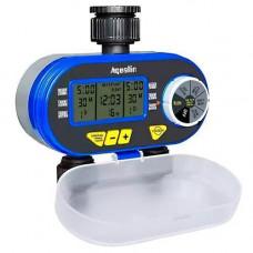 Таймер поливу, подачі води на 2 лінії цифр. упр Aqualin YL21060