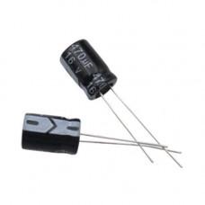 10x Конденсатор електролітичний алюмінієвий 470мкФ 16В 105С