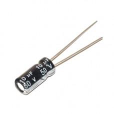 10x Конденсатор електролітичний алюмінієвий 10мкФ 50В 105С